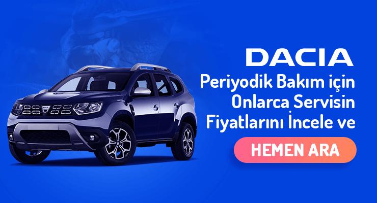 Dacia-Periyodik-Bakim-Fiyatlari