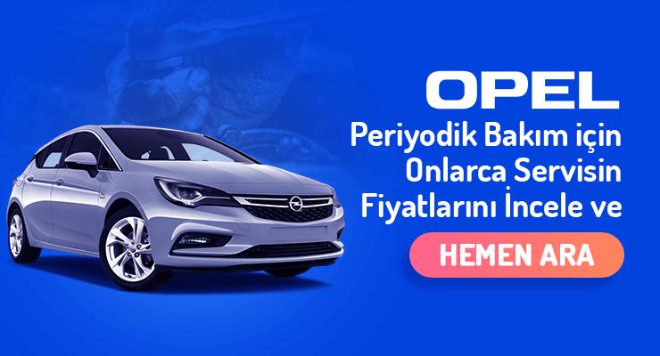 Opel-Periyodik-Bakim-Fiyatlari