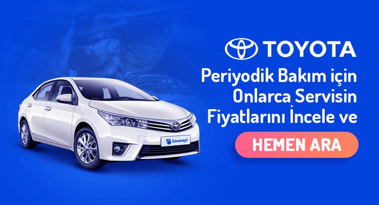 Toyota-Periyodik-Bakim-Fiyatlari
